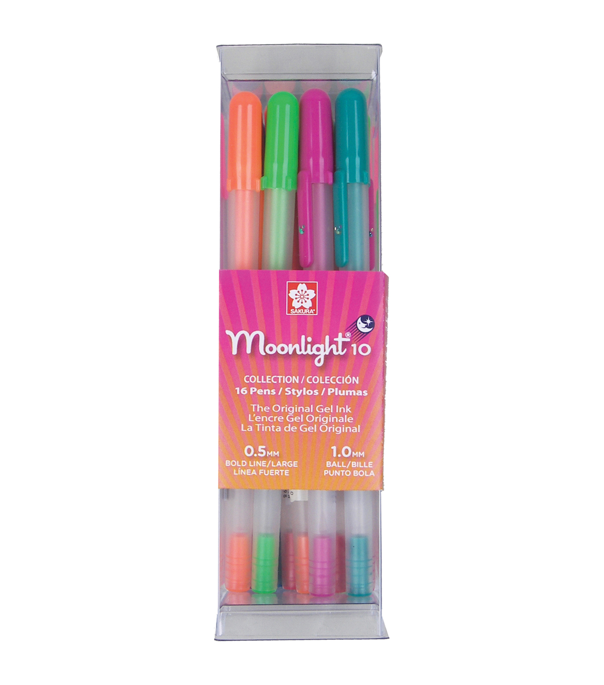 Gelly Roll Moonlight 10 16/Pkg-Bold Point