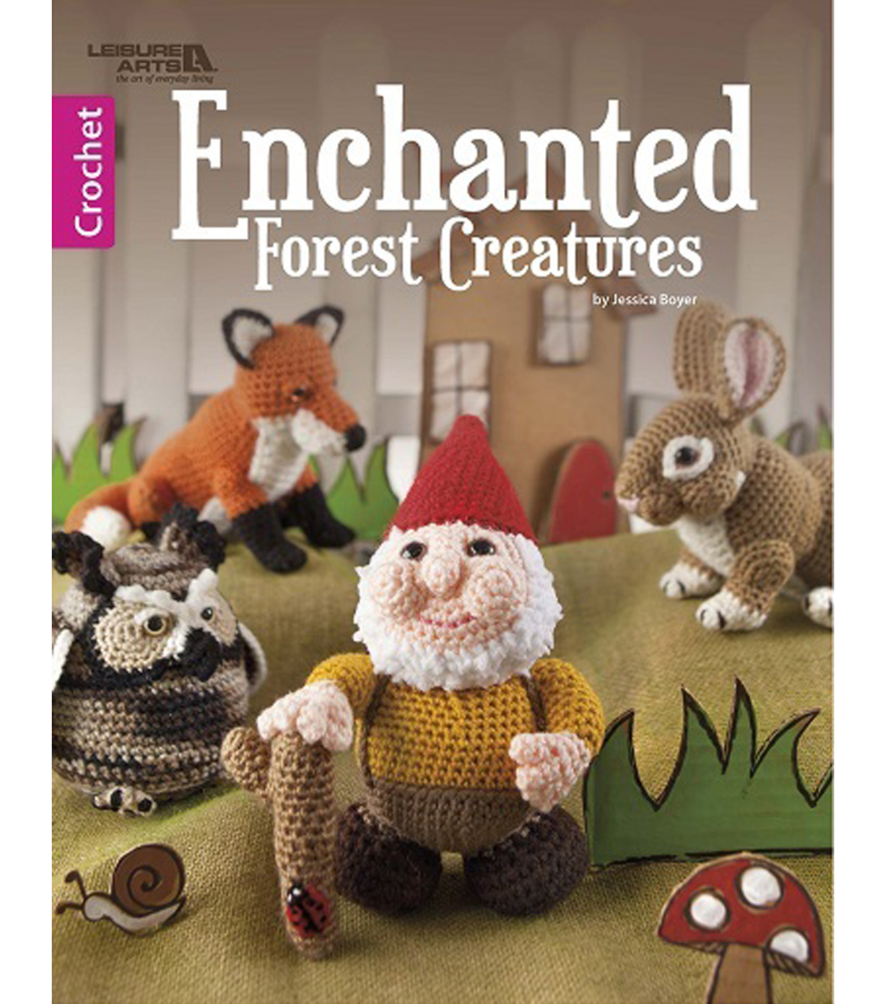 Enchanted Forest Creatures Crochet Book