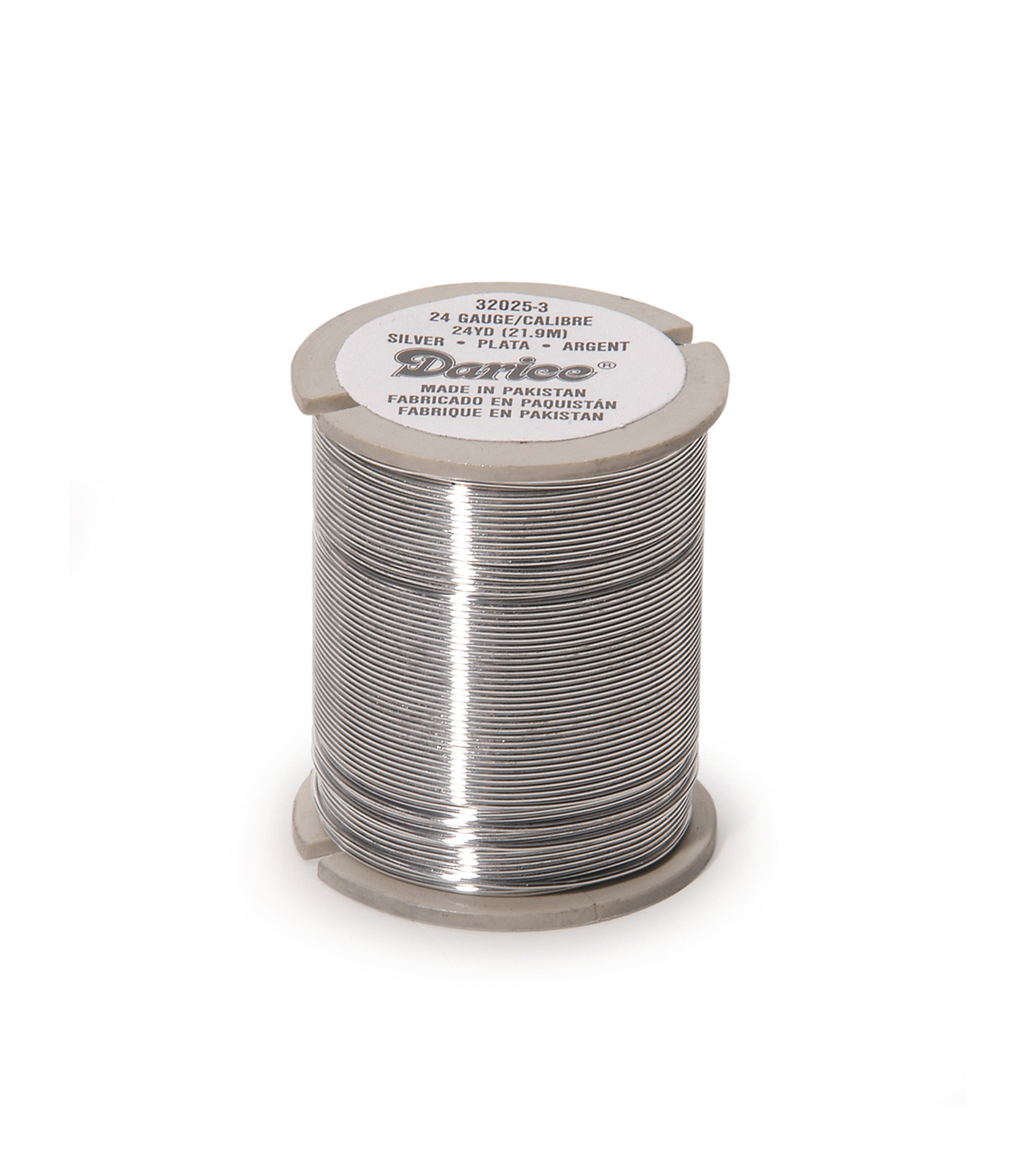 Bead Wire Slvr 24G/24 Yds