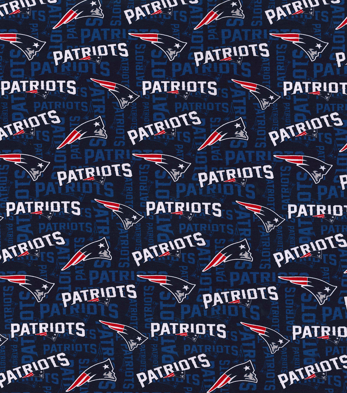 New England Patriots Cotton Knit Fabric
