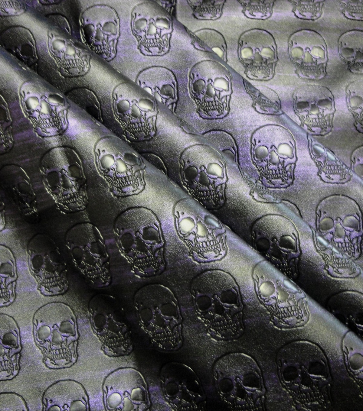 Cosplay by Yaya Han Stretch Fabric -Embossed Skull