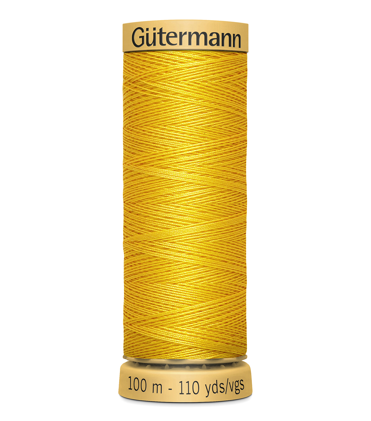 Gutermann Sew All Polyester Thread 110 Yards-Oranges & Yellows , Bight Yellow