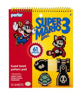 Perler Super Mario Bros  3 Pattern Pad