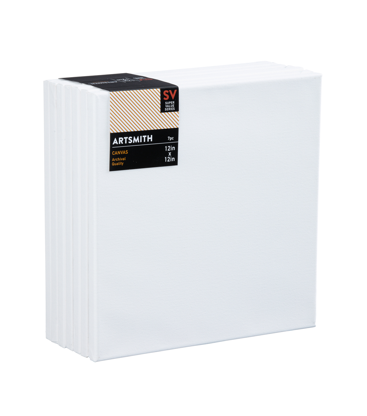 Stretched Canvas Super Value Pack 12\u0022x12\u0022
