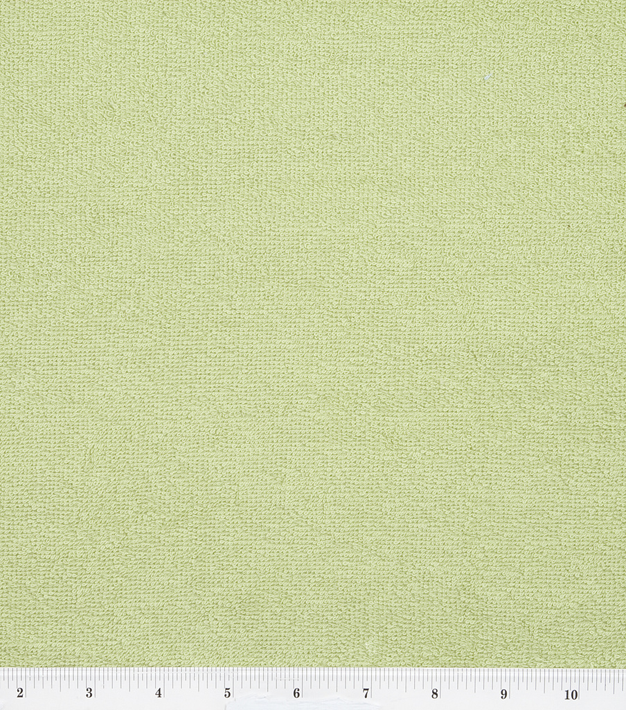 Cotton Terry Cloth Fabric-Solids, Sage