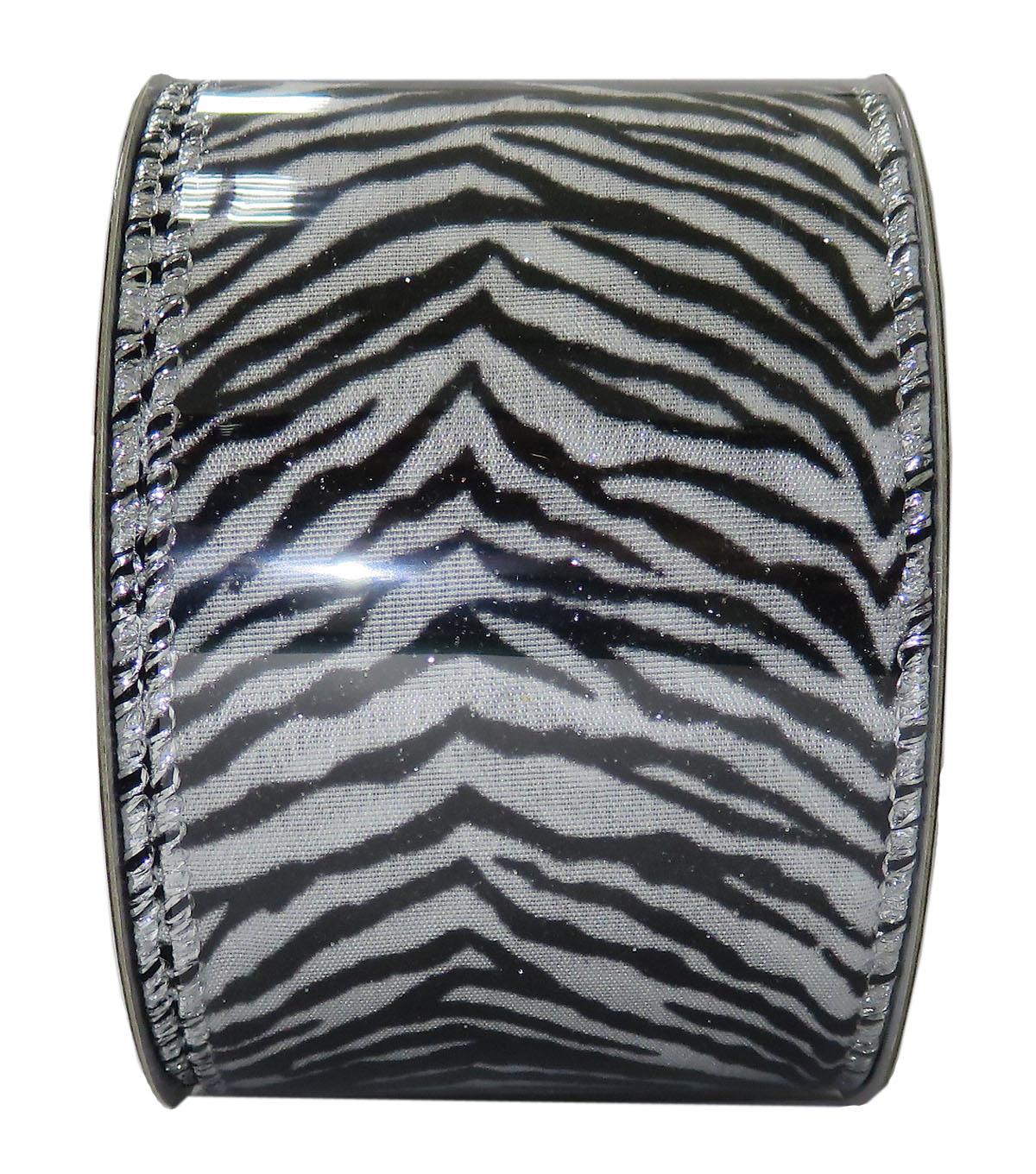 Decorative Ribbon 2.5\u0027\u0027 X 15\u0027-Zebra