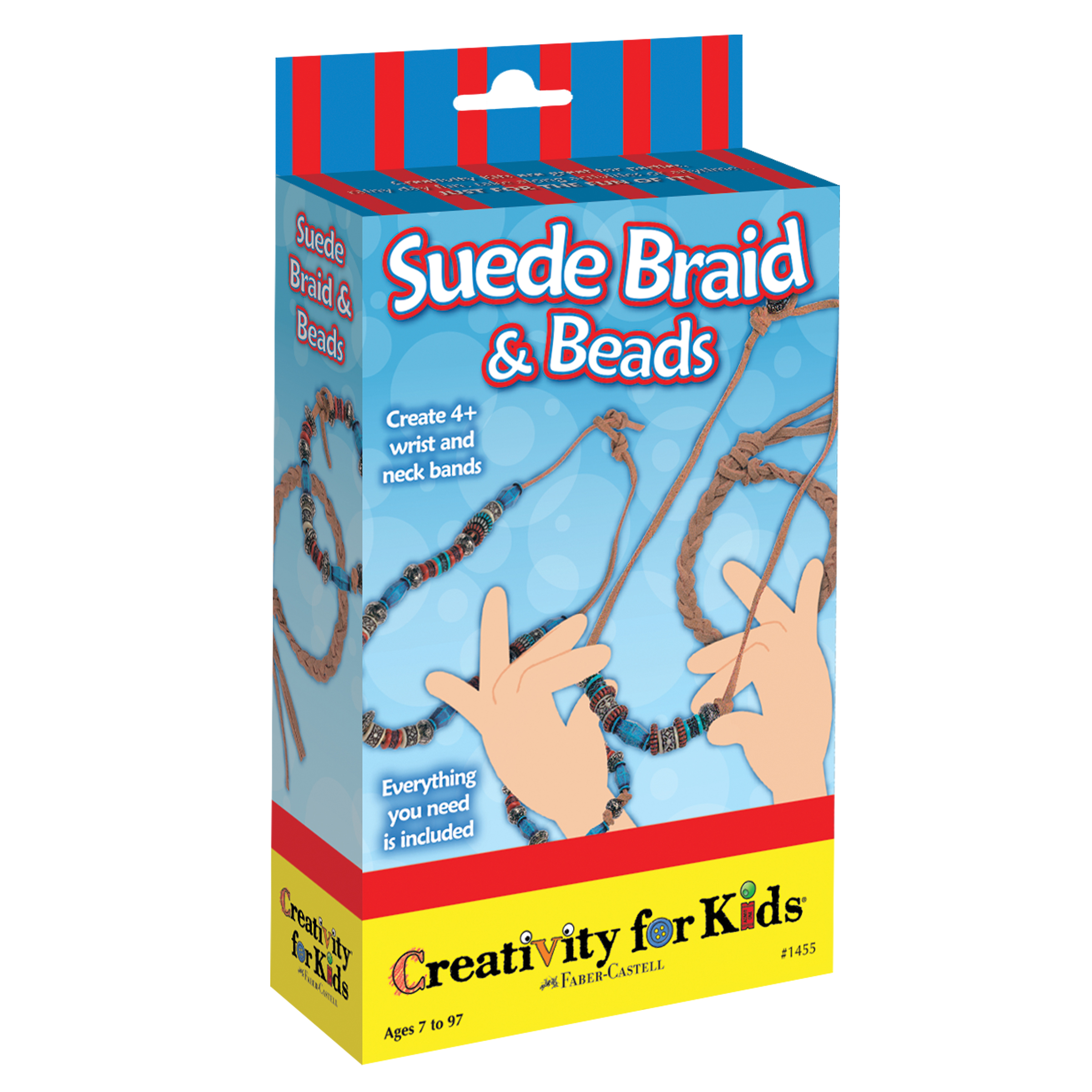 Creativity for Kids Suede Braid & Beads