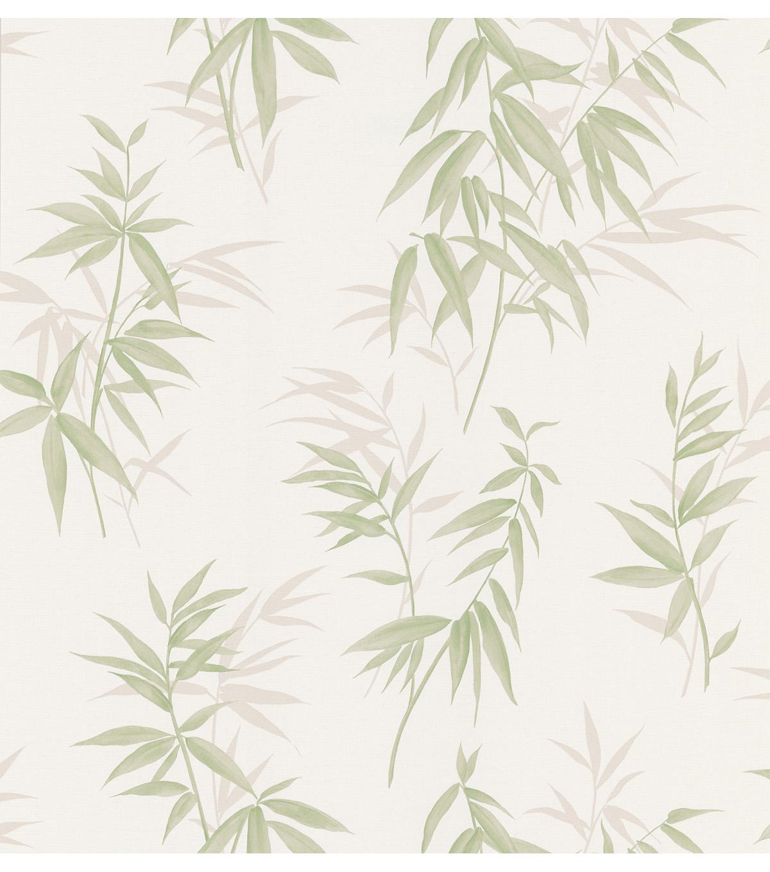 Bamboo Shoot Light Green Leaves Wallpaper