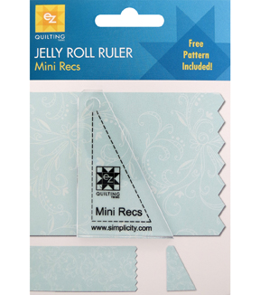 Ez Quilting Mini Rectangle Jelly Roll Ruler