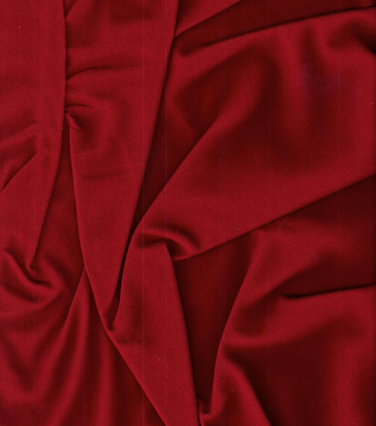Homespuns Cotton Fabric 44\u0022-Red Solid