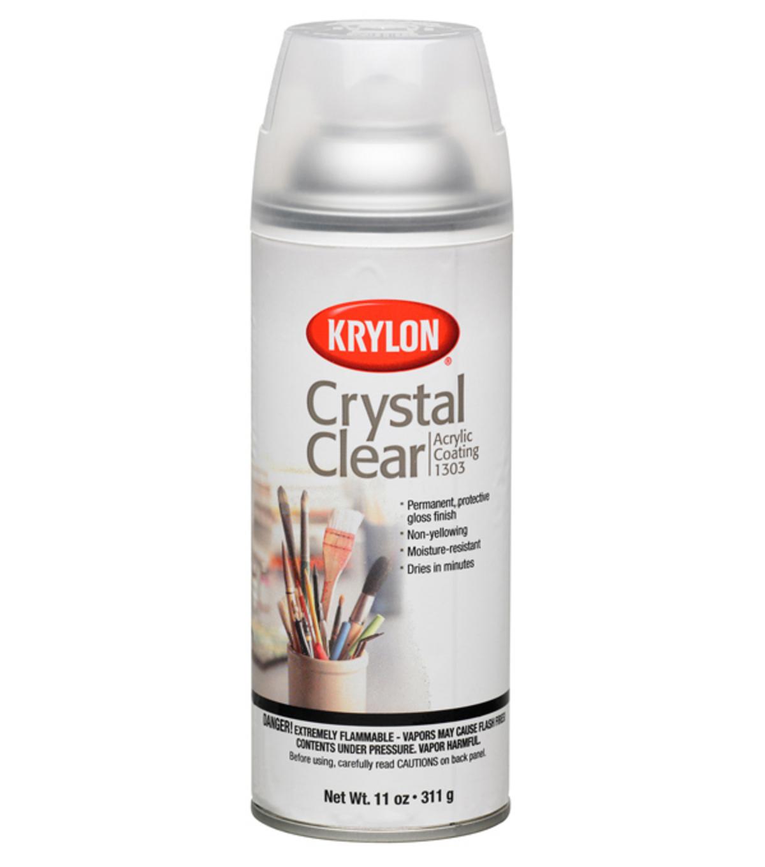 Krylon Crystal Clear 11 Oz Acrylic Coating Aerosol Spray
