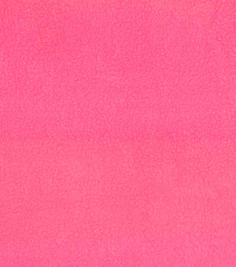Anti-Pill Fleece Fabric -Solids, Medium Pink