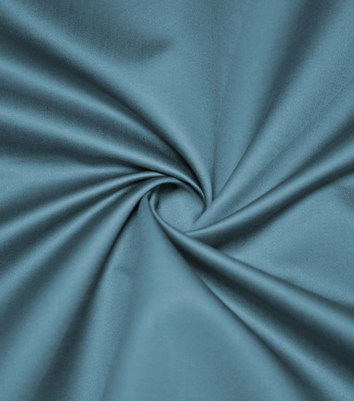 Supima Sateen Cotton Fabric-Solids, Stone Blue