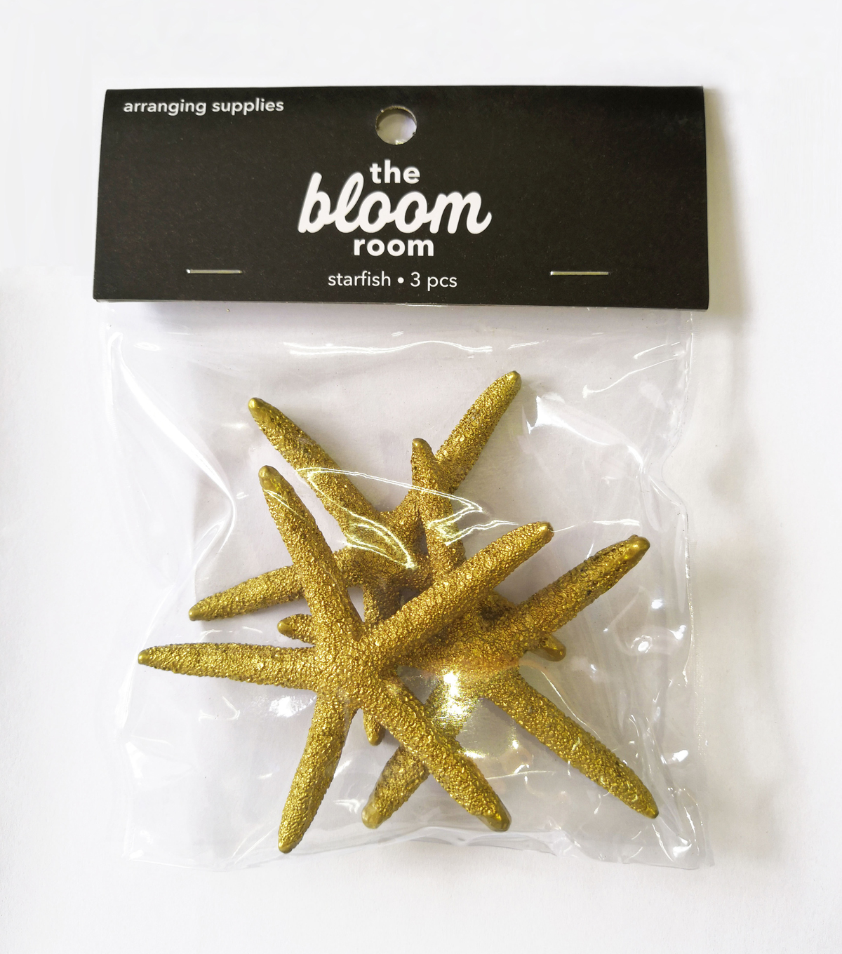 Panacea Products Finger Starfish 3/Pkg-Gold