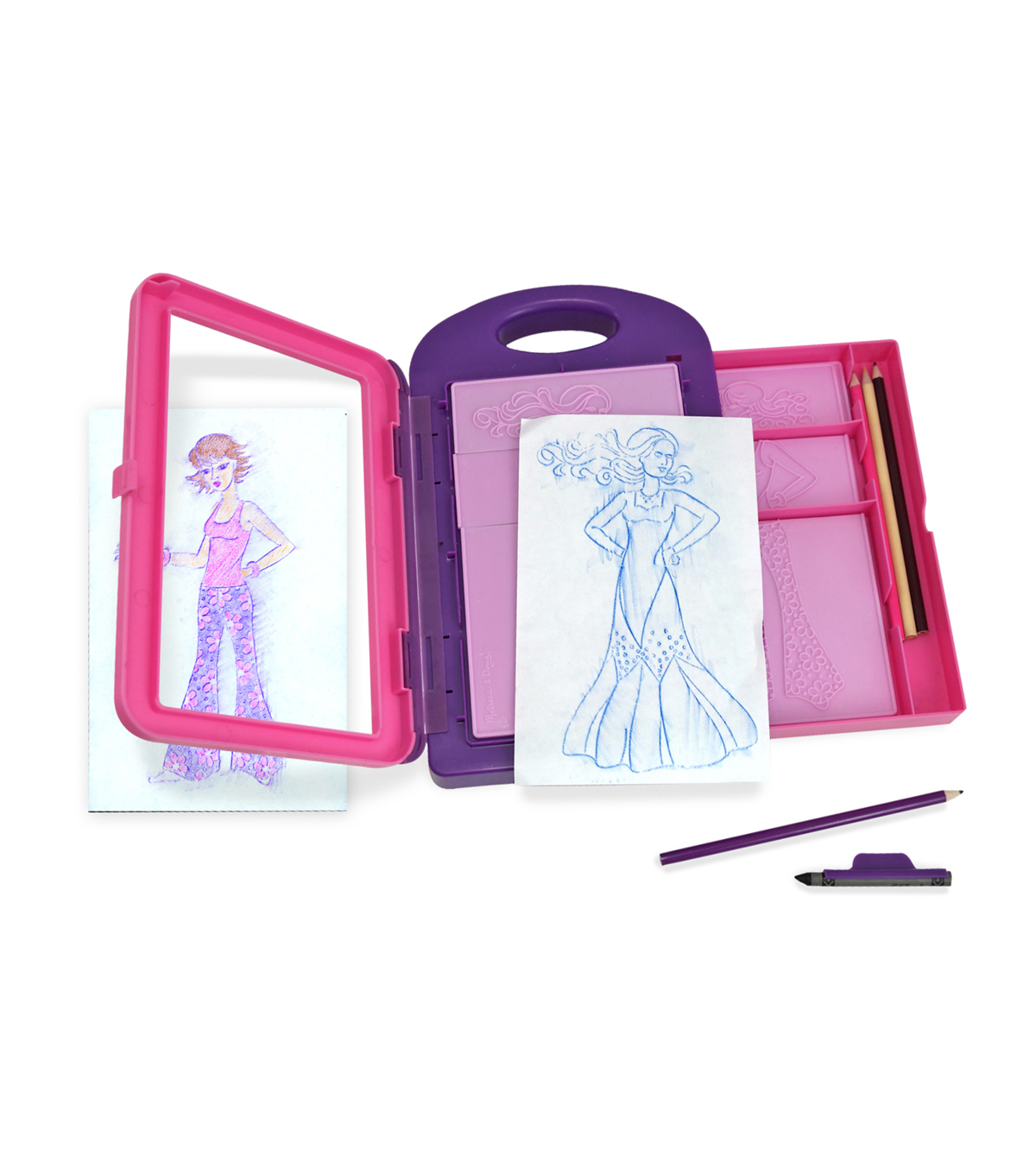 Melissa & Doug Fashion Design Activity Kit