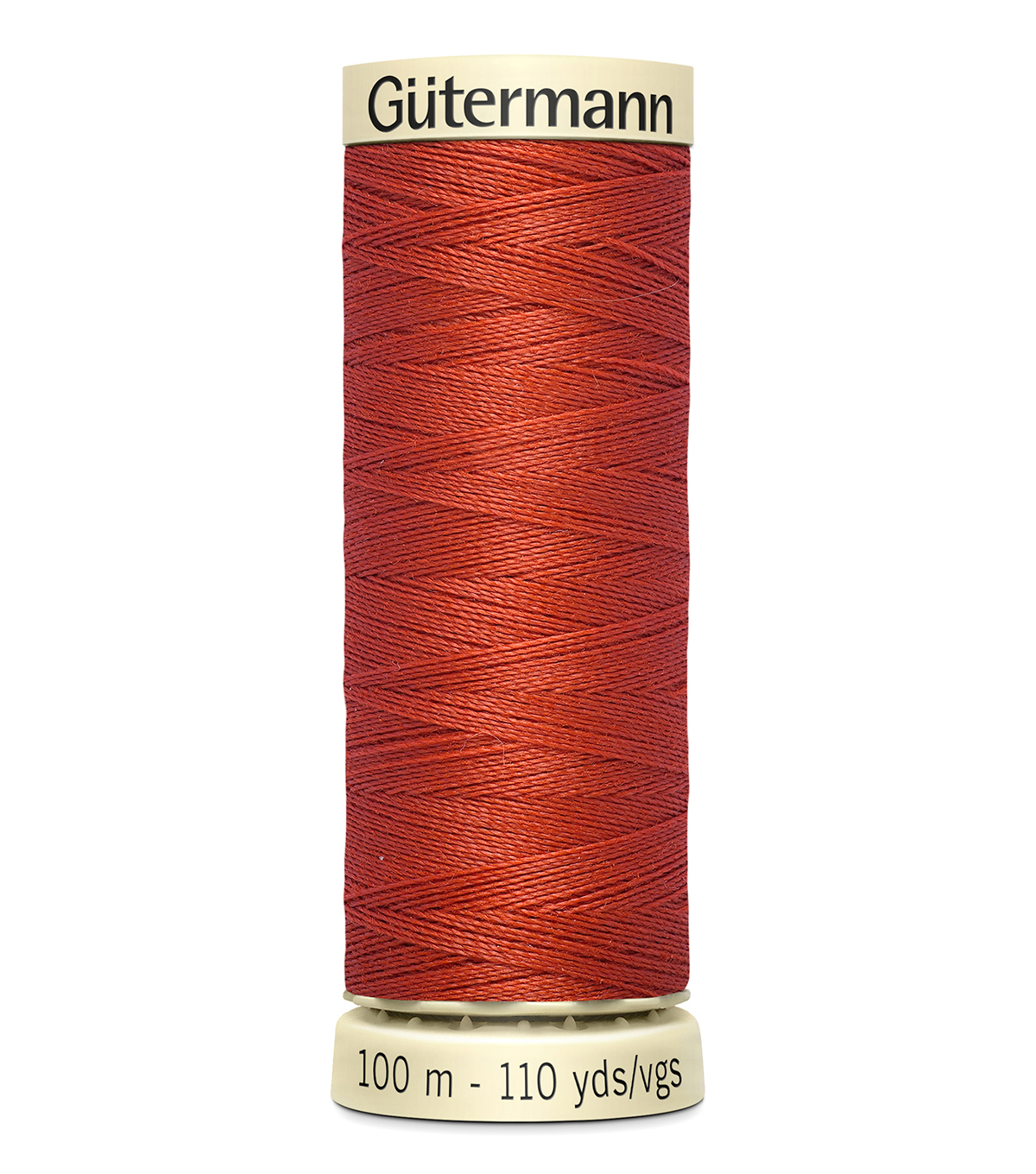 Gutermann Sew All Polyester Thread 110 Yards-Oranges & Yellows , Copper #476