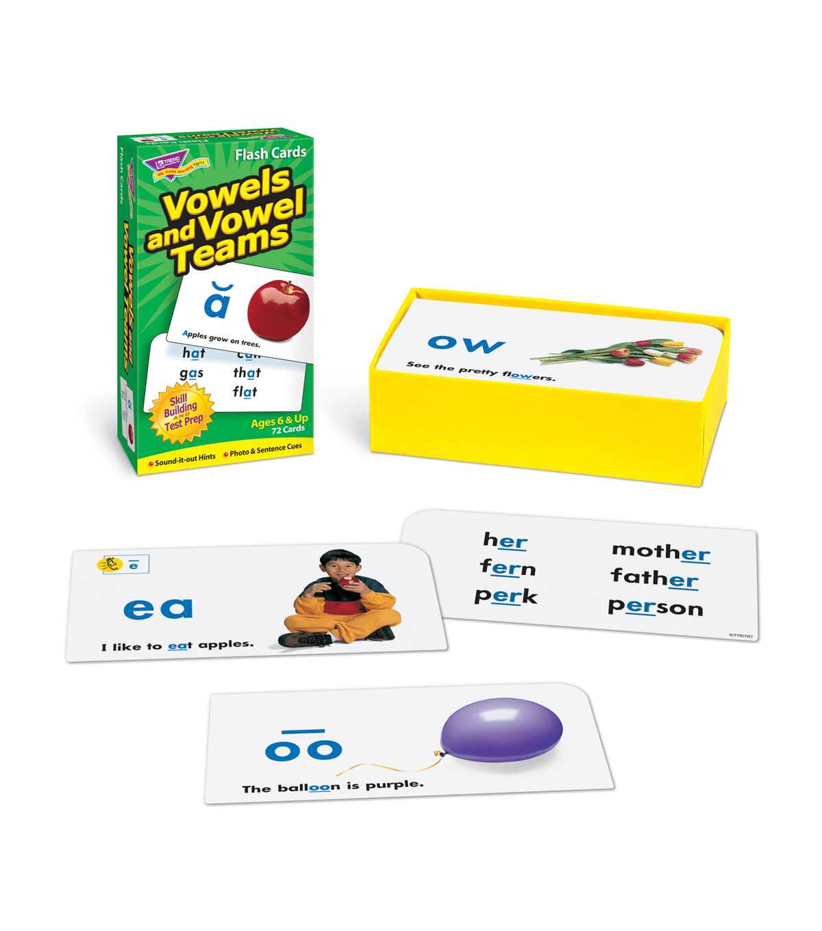 Vowels and Vowel Teams, Set of 3pks