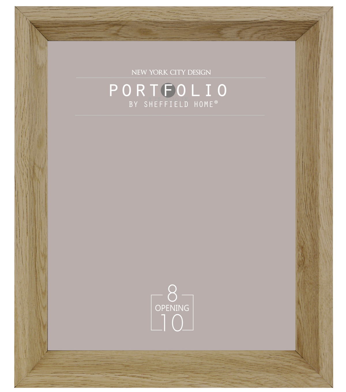 Sheffield Home Portfolio Casual Rustic Deep Profile Frame 8\u0027\u0027x10\u0027\u0027