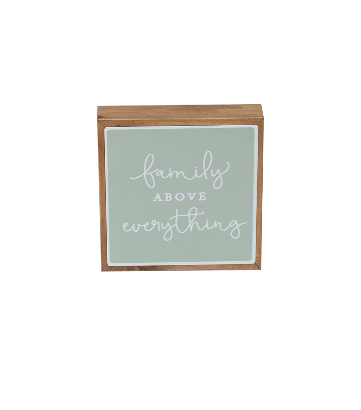Simply Spring Wall Decor-Family Above Everything