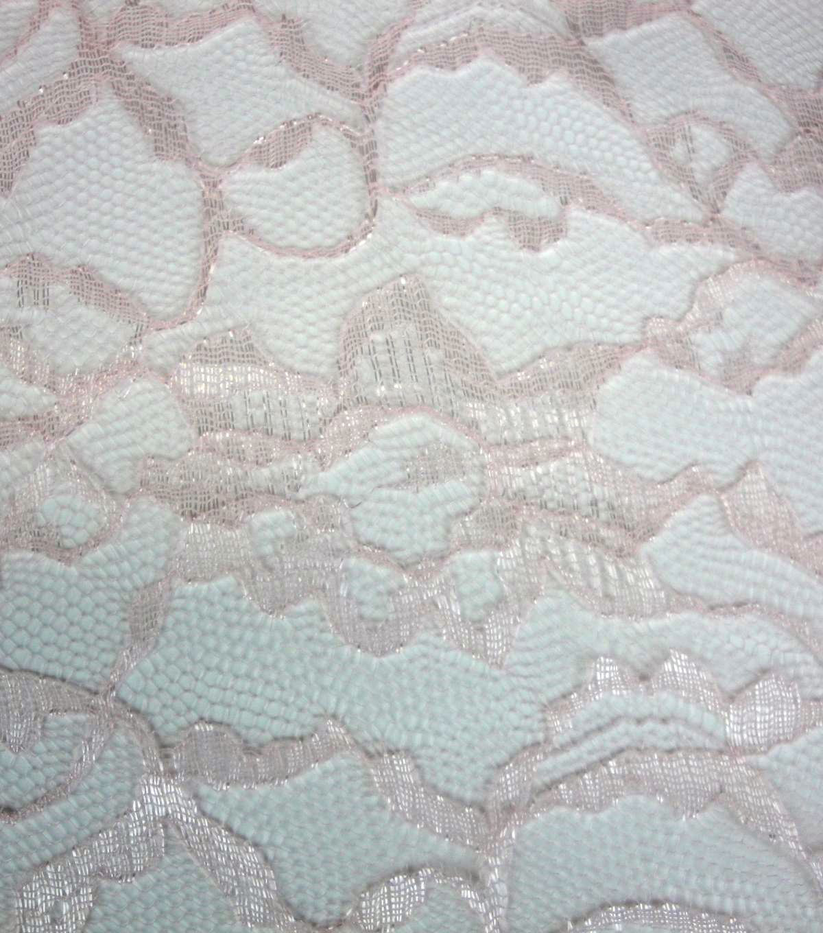 Casa Collection Lace Fabric -Rosewater