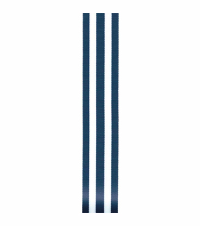 Monostripe Craft Ribbon, Navy, 1-1/2\u0022 x 9 Ft