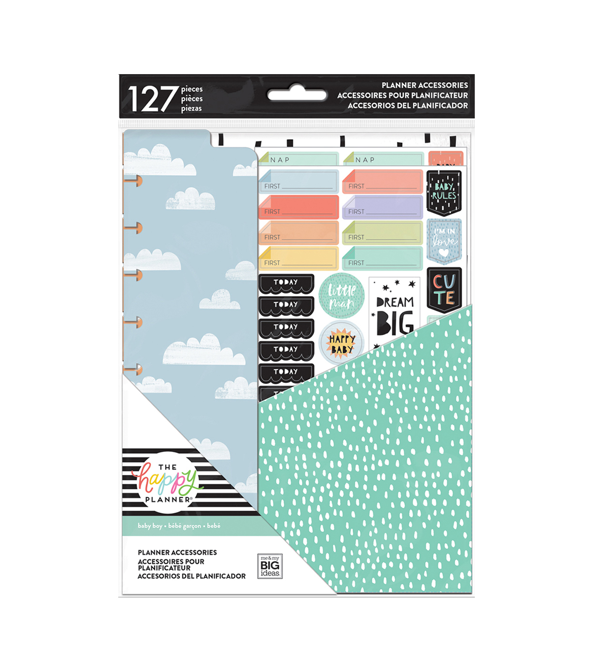 The Happy Planner Accessories Kit-Baby Boy