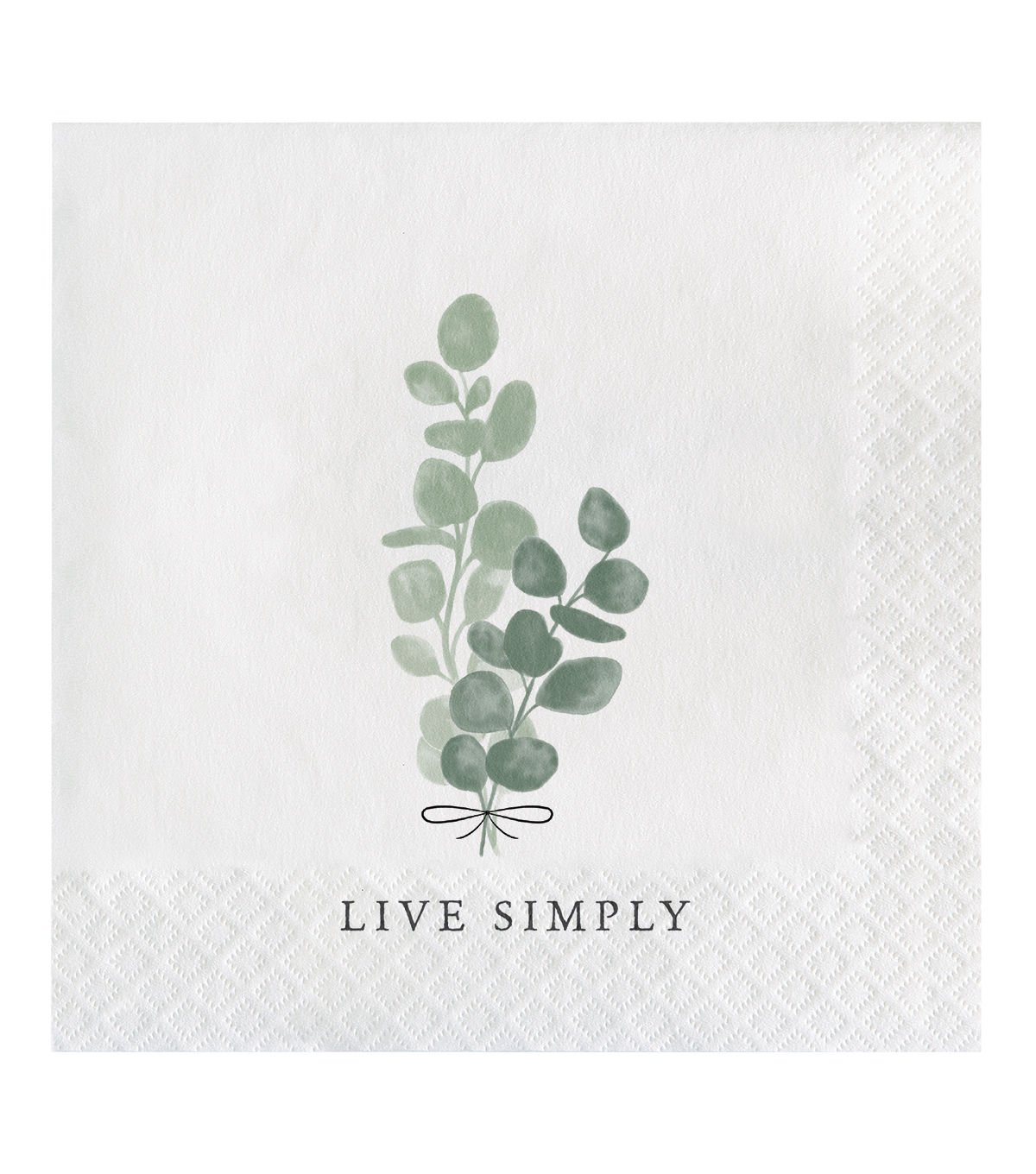 Simply Spring 20 pk Lunch Napkins-Greenery