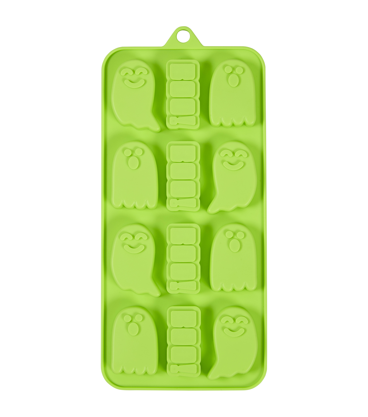 Wilton Maker\u0027s Halloween Silicone Candy Mold-Ghost And Boo