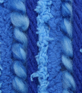 Bernat Bundle Brights Yarn, Blue Jay