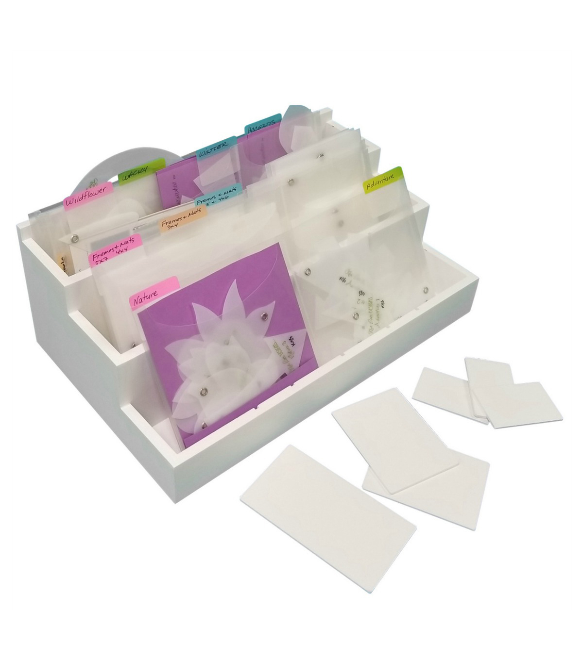Die Stamp & Supply Organizer