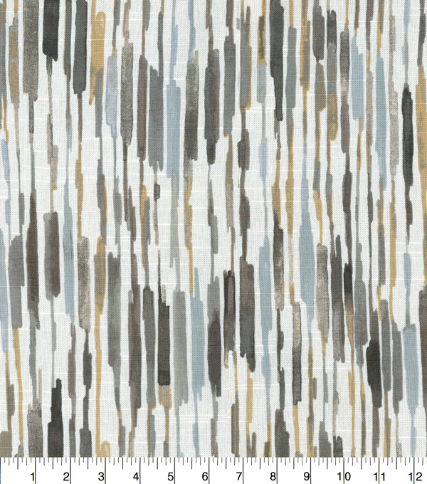 Kelly Ripa Home Upholstery Décor Fabric 9\u0022x9\u0022 Swatch-Drizzle Shell
