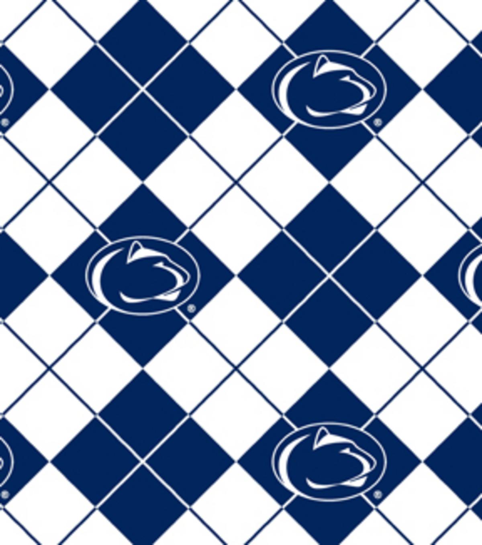 Penn State Argyle-NCAA Fleece Fabric   JOANN