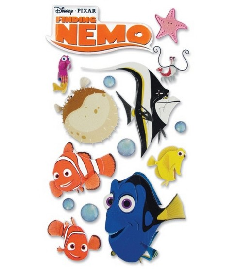 Disney Dimensional Stickers-Finding Nemo