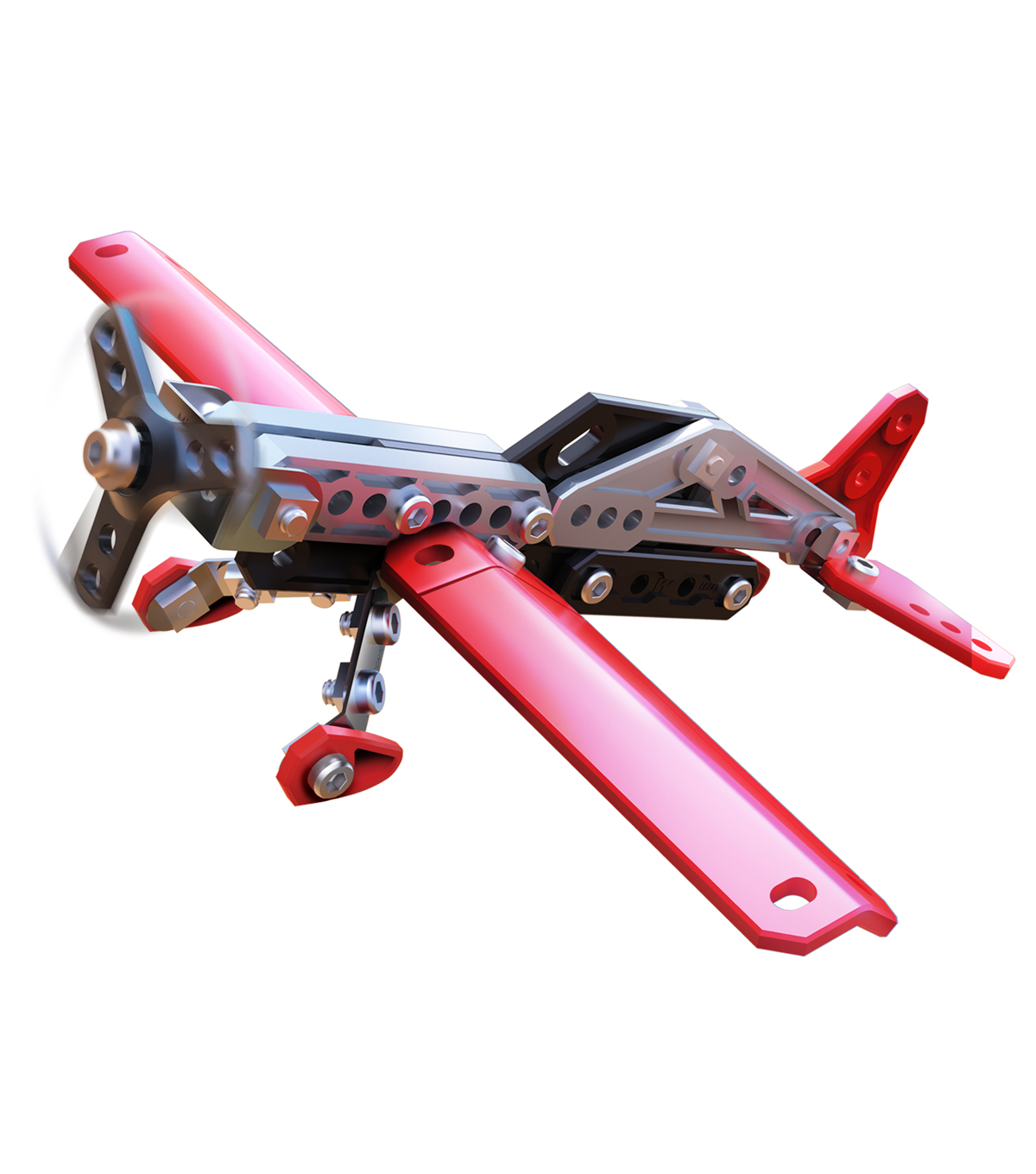 Meccano 3 Models Set 2 In 1 Plane