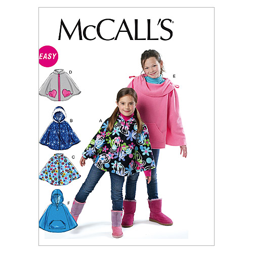 McCall\u0027s Girls Outerwear-M6431