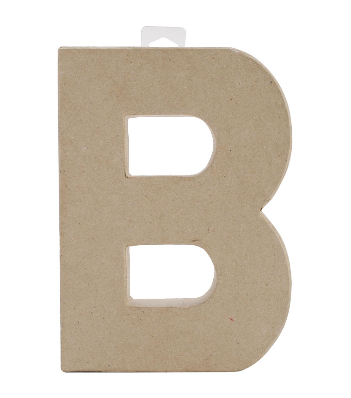 Darice 8'' Paper Mache Alphabet Letters