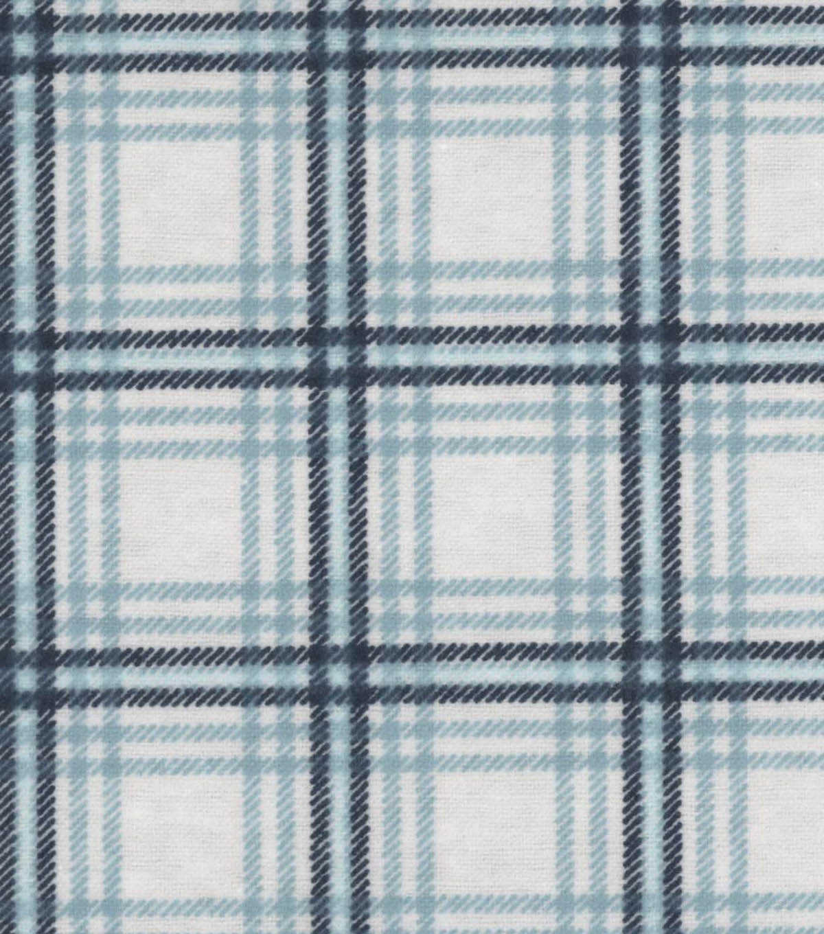 Snuggle Flannel Fabric 42\u0022-Spa Plaid