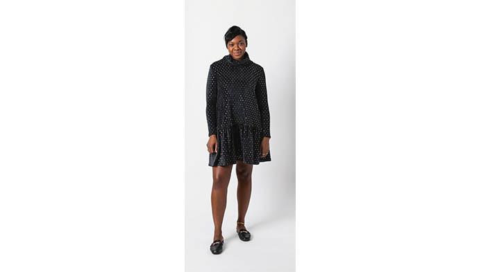 Sew With Metallic Knit