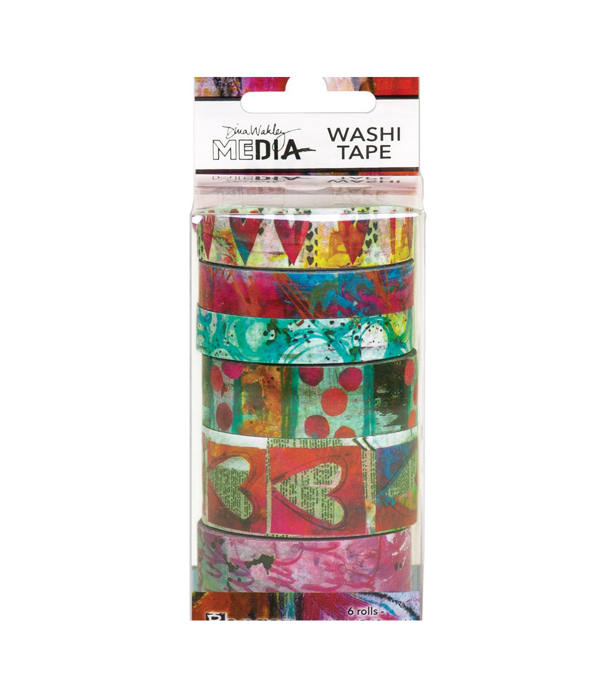 Dina Wakley Media Washi Tape-#3