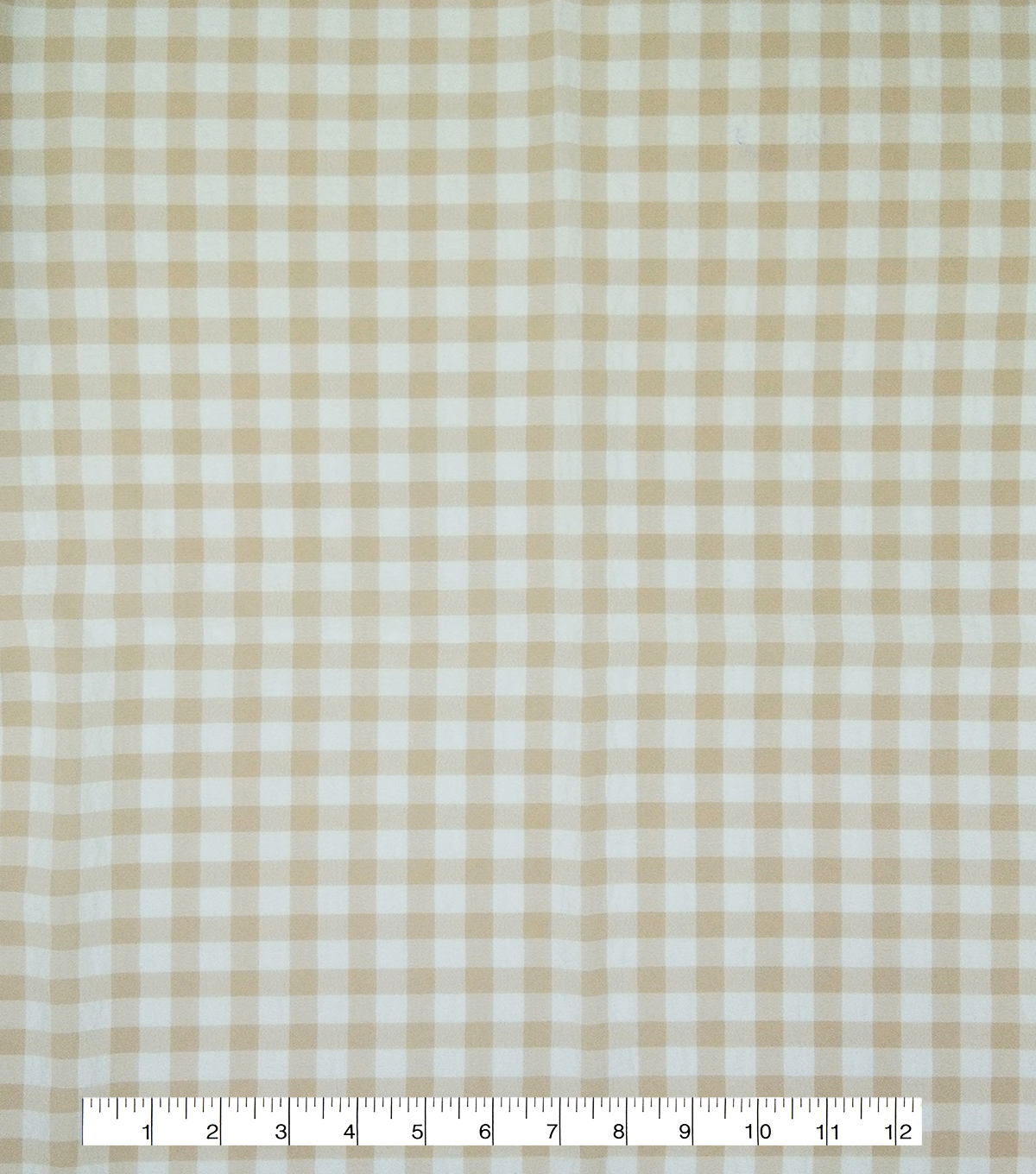 Homestead Pucker Gingham Poly Cotton Fabric-Pink Tricolor