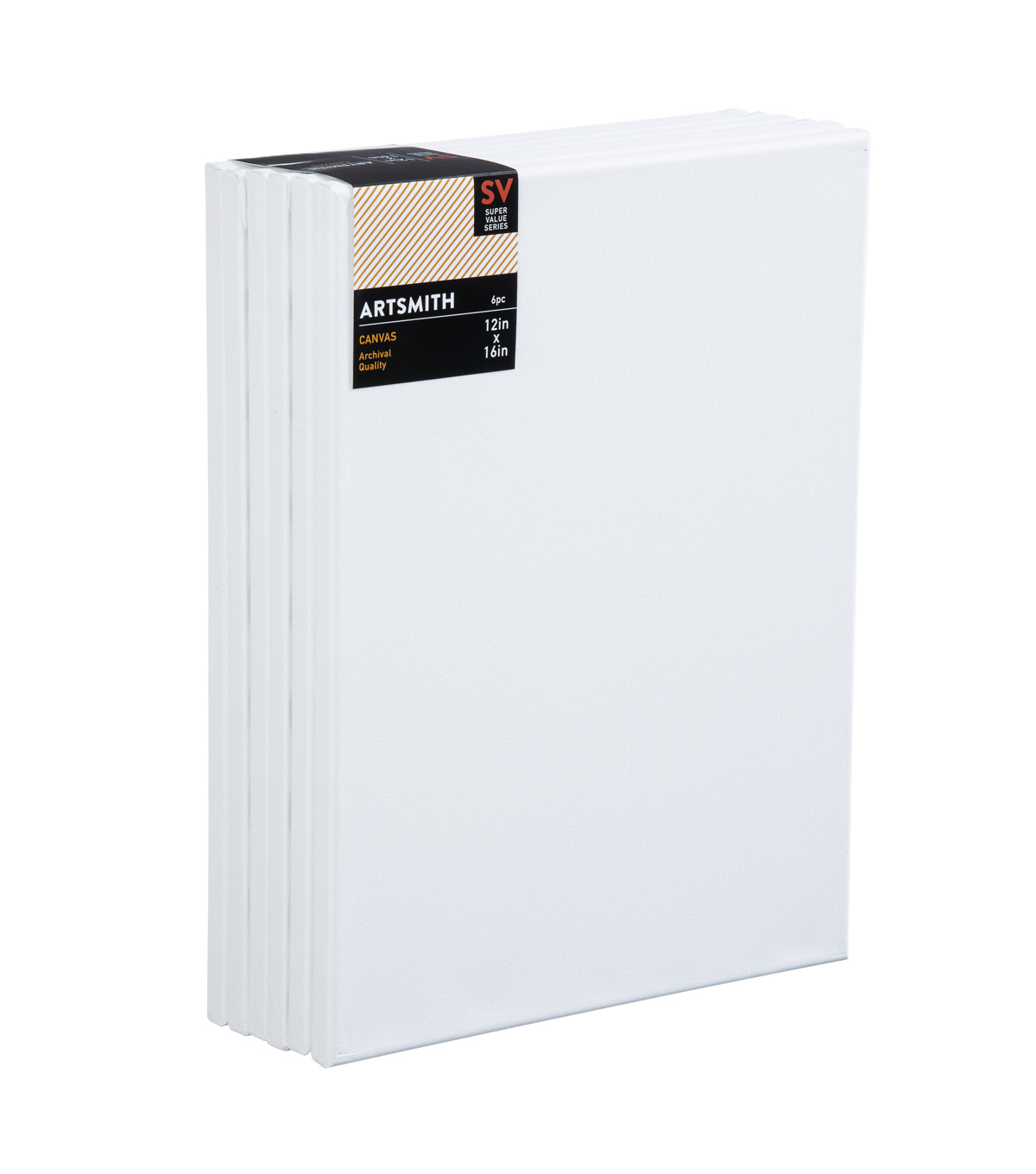 Stretched Canvas Super Value Pack 12\u0022x16\u0022