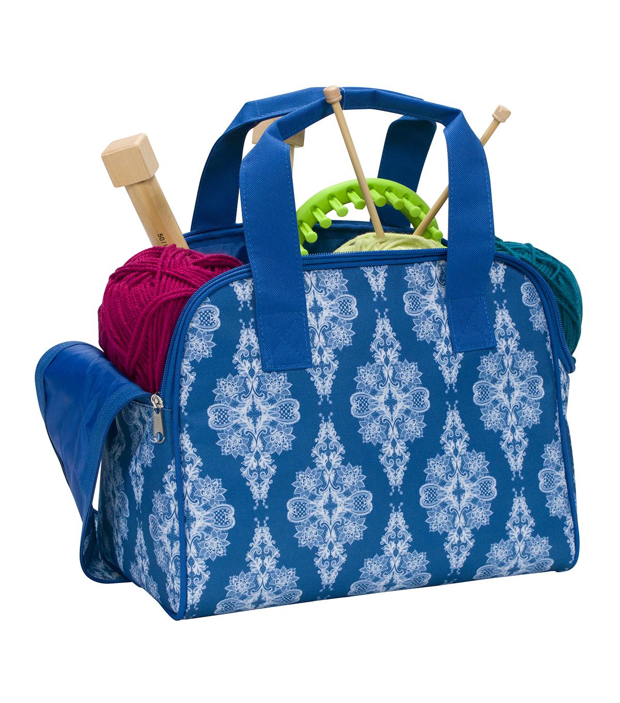 Everything Mary Zip Around Knitting Tote