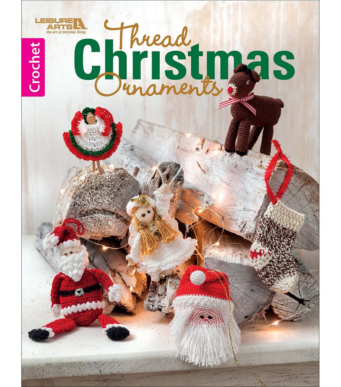 Thread Christmas Tree: Thread Christmas Ornaments Crochet Book