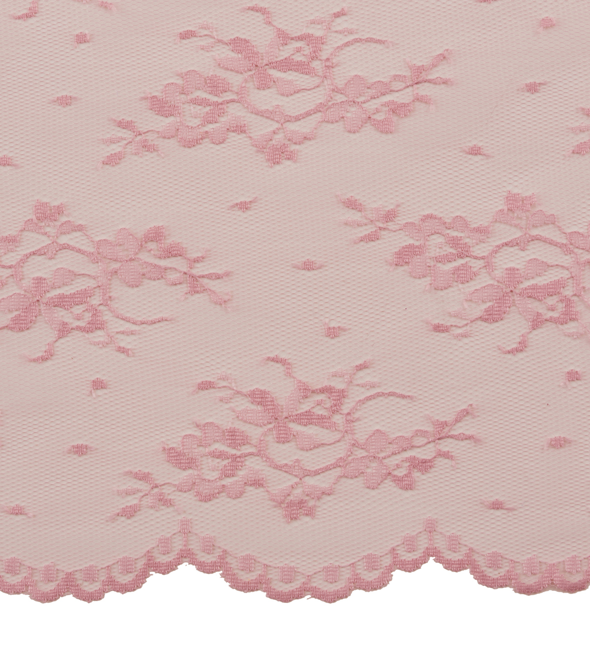 Casa Collection Chantilly Lace Fabric -Solids, Peachskin