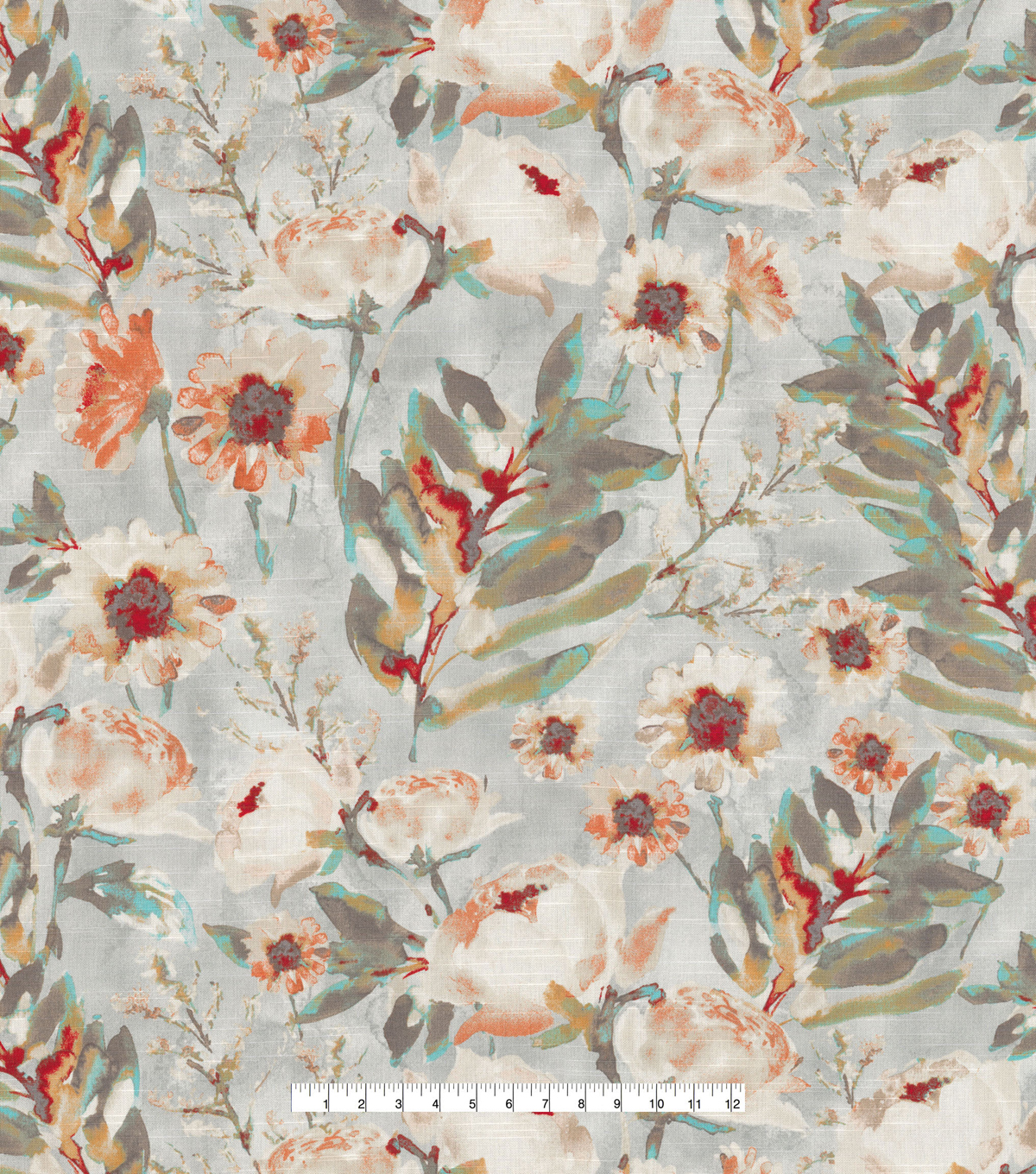 Kelly Ripa Home Upholstery Décor Fabric-Flower Mania Shell