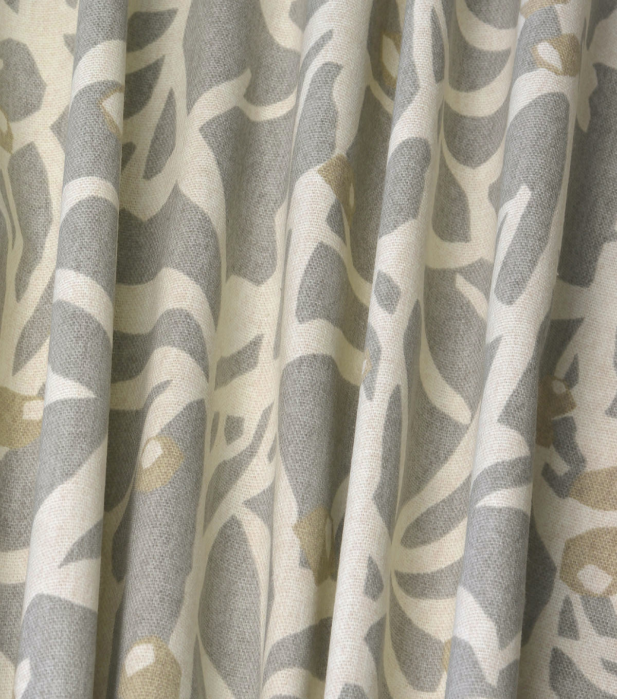 Home Essentials Decor Fabric 45\u0022-Origami Branch Platinum