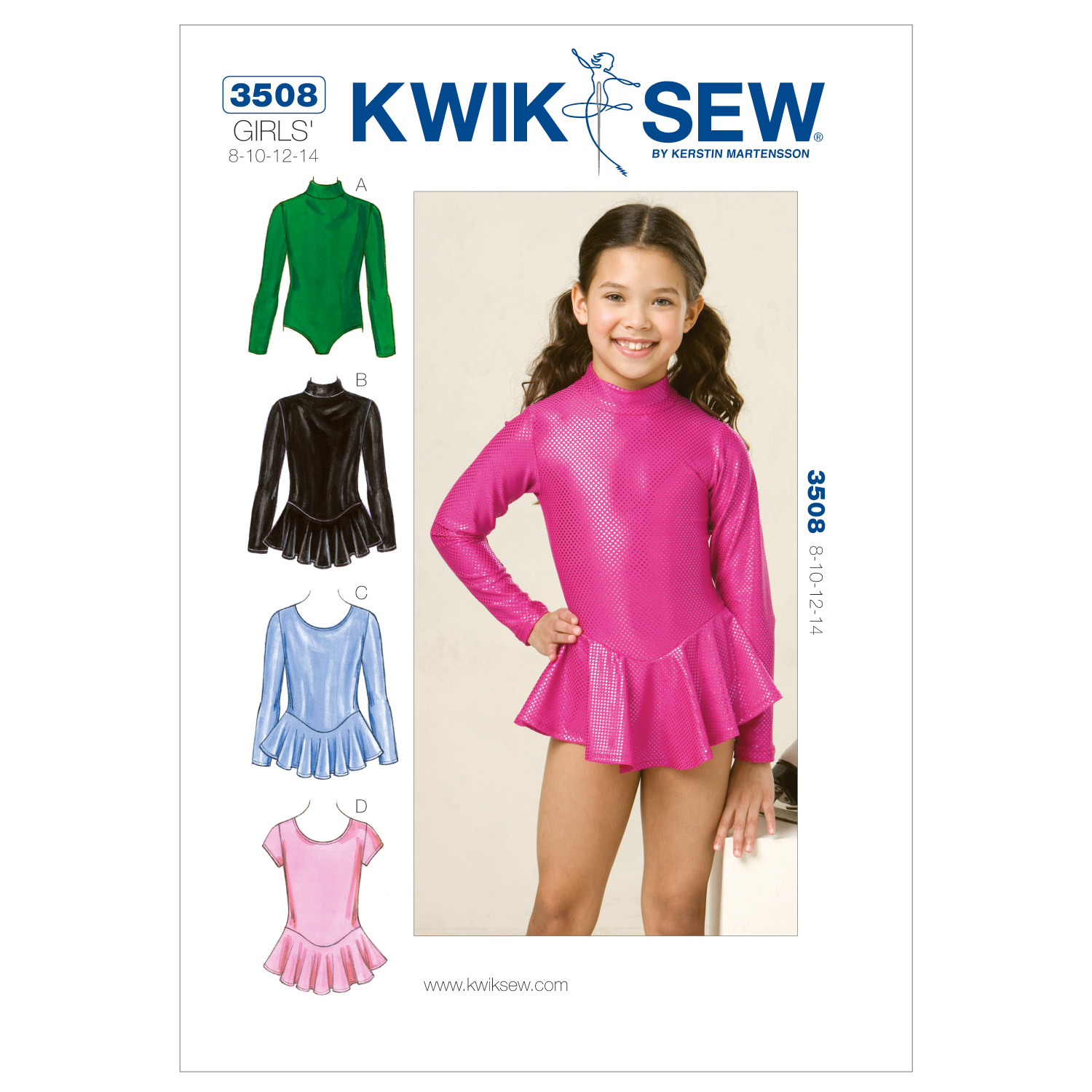 Kwik Sew Girls Casual-K3508