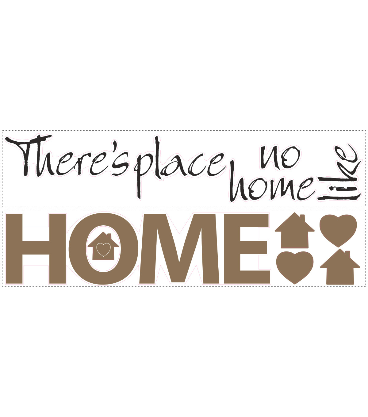 York Wallcoverings Wall Decals-No Place Like Home