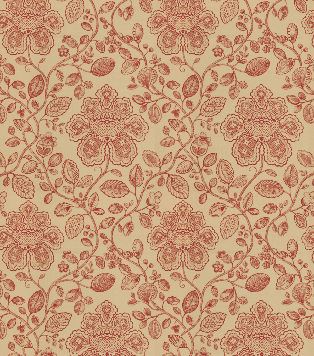Home Decor 8x8 Fabric Swatch-Eaton Square Ragtime Tabasco