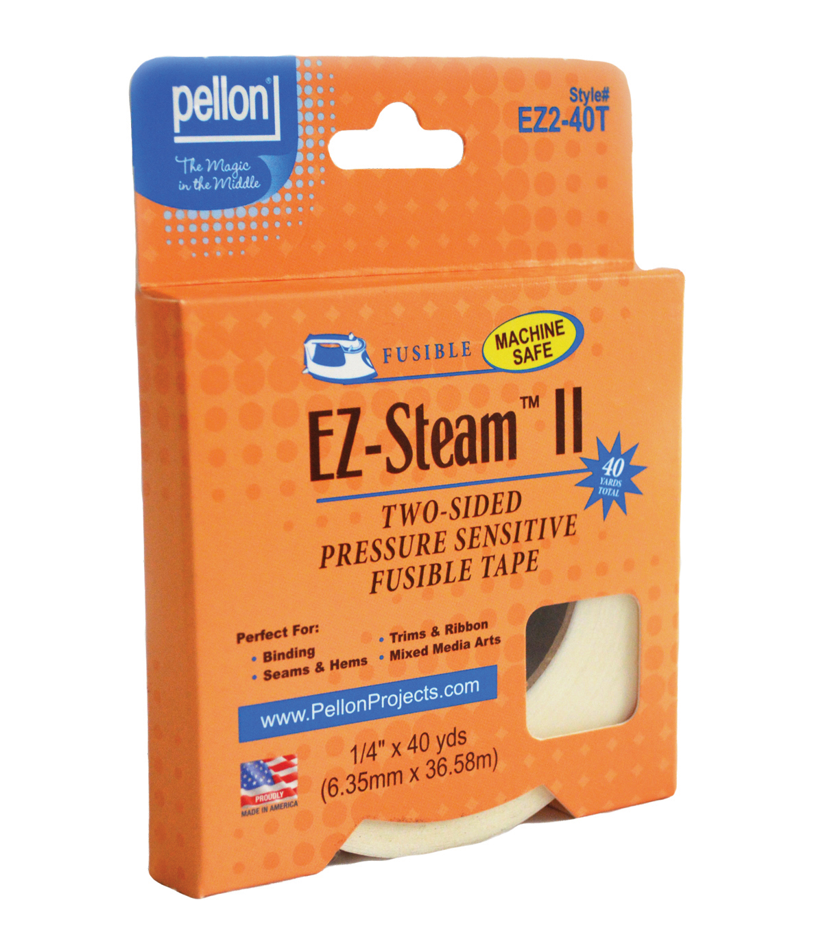 Ez Steam Ii Tape 1 4 X 40 Yds 2 Rolls